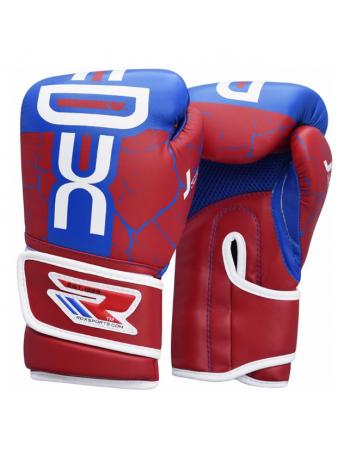 Боксерские перчатки детские RDX SPIDER KIDS SPARRING красные
