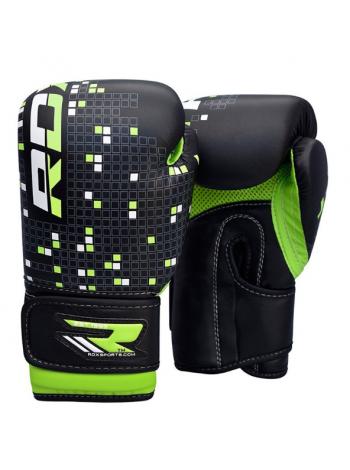 Боксерские перчатки детские RDX DINO черные