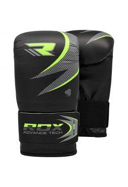 Снарядные перчатки RDX MMA Punching черные