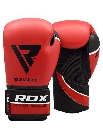 Боксерские перчатки RDX Training Maya Hide Leather красные