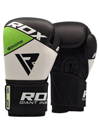 Снарядные перчатки RDX MMA Punching Bag черно-зеленые