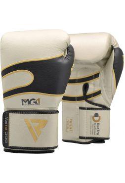 Боксерские перчатки RDX Sparring Training leather серебряные