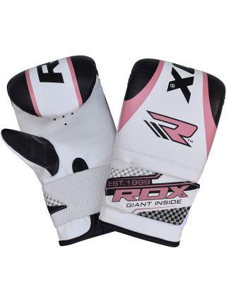 Снарядные перчатки RDX Ladies Pink Gel Punching Mitts розовые