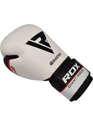 Боксерские перчатки RDX Training Maya Hide Leather белые