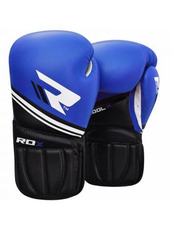 Боксерские перчатки RDX Cool-X Fitness Coaching синие