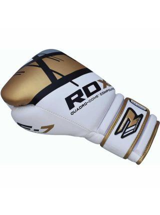 Боксерские перчатки RDX EGO золотые