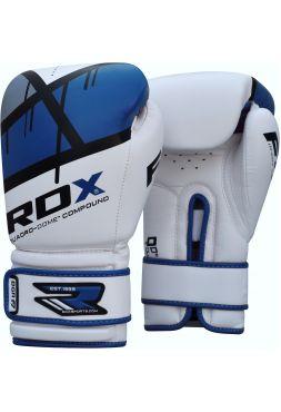 Боксерские перчатки RDX EGO синие