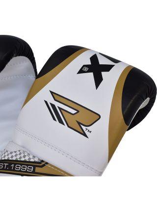 Снарядные перчатки RDX Bag Mitts Punching золотые