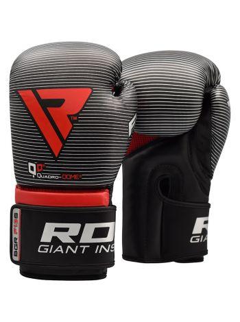 Перчатки для бокса RDX Muay Thai серебряные