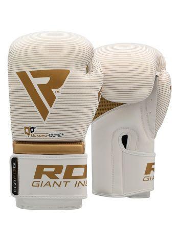 Боксерские перчатки RDX Muay Thai золотые