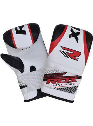 Снарядные перчатки RDX Bag Punching Mitts красные