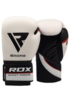 Перчатки для бокса RDX Training Maya Hide Leather белые