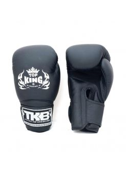 Боксерские перчатки Top King TKBGSA SUPER AIR черные