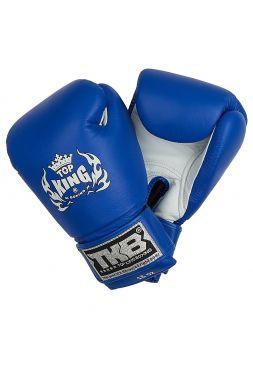 Боксерские перчатки Top King TKBGUV сине-белые