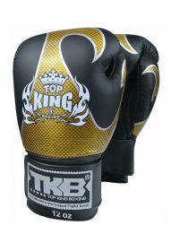 Перчатки для бокса Top King TKBGEM-01 черные на липучке
