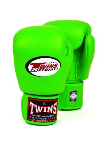 Боксерские перчатки Twins BGVL-3 зеленые