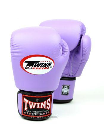 Боксерские перчатки Twins BGVL-3 сиреневые