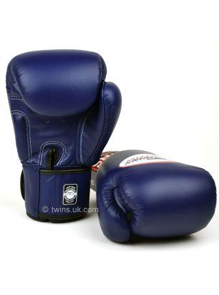 Боксерские перчатки Twins BGVL-3 синие