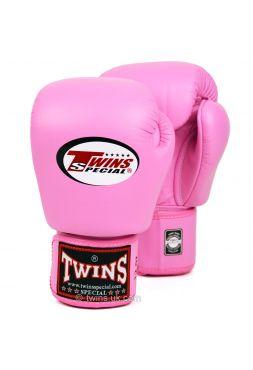 Боксерские перчатки Twins BGVL-3 розовые