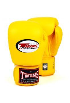 Боксерские перчатки Twins BGVL-3 желтые