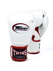 Боксерские перчатки Twins Air BGVLA-1 бело-красные
