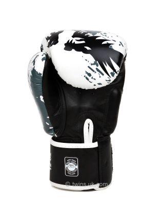 Боксерские перчатки Twins FBGV-36 бело-серые