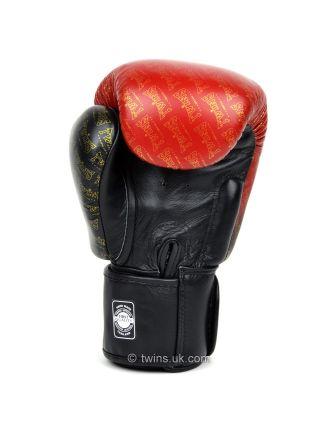 Боксерские перчатки Twins FBGV-TW1 черно-красные