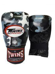 Снарядные перчатки TWINS Special камо-серый