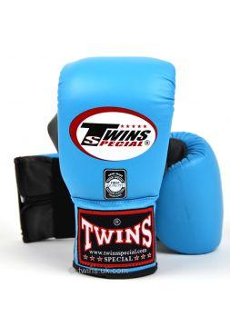 Снарядные боксерские перчатки Twins Air Flow Bag TBGL-6F голубо-серые