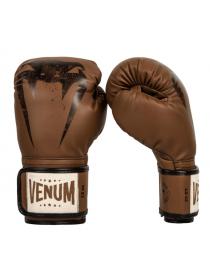 Боксерские спаринговые перчатки VENUM GIANT SPARRING коричневые