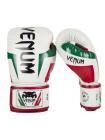 Боксерские перчатки VENUM ELITE ITALY белые