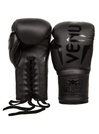 Боксерские перчатки VENUM ELITE черные