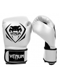 Перчатки для бокса VENUM CONTENDER белые