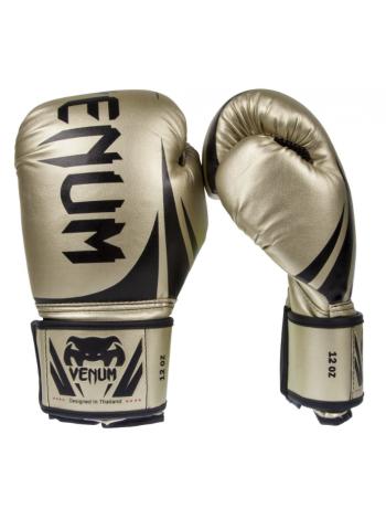 Боксерские перчатки VENUM CHALLENGER 2.0 золотые