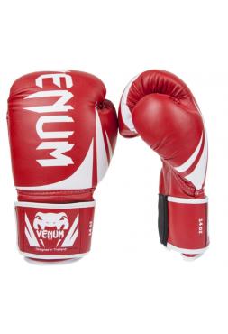 Боксерские перчатки VENUM CHALLENGER 2.0 красные