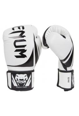 Боксерские перчатки VENUM CHALLENGER 2.0 белые