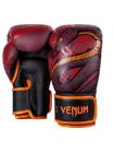 Боксерские перчатки VENUM SNAKER бордовые