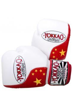 Боксерские перчатки Yokkao Chinese Flag