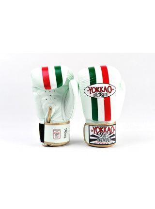 Боксерские перчатки Yokkao Italian Flag