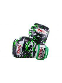 Боксерские перчатки детские Yokkao KIDS Black APACHE