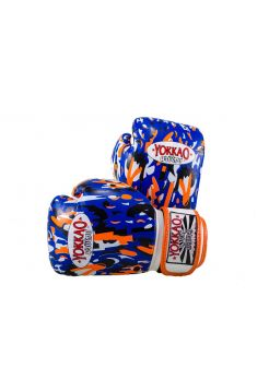 Боксерские перчатки детские Yokkao KIDS Blue APACHE