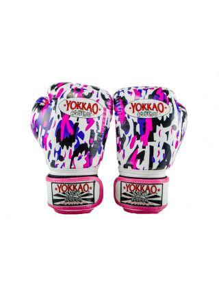 Боксерские перчатки детские Yokkao KIDS Pink APACHE