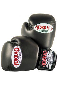 Боксерские перчатки Yokkao Matrix черные