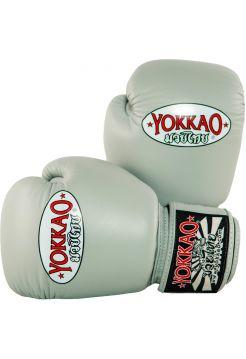 Боксерские перчатки Yokkao Matrix серые
