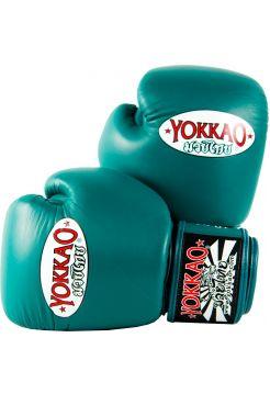 Боксерские перчатки Yokkao Matrix голубые