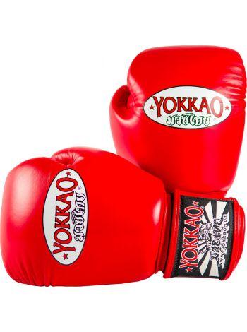Боксерские перчатки Yokkao Matrix красные