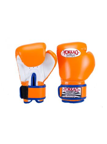 Боксерские перчатки детские Yokkao Air 2.0 оранжевые
