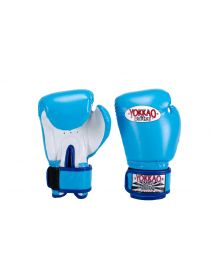Боксерские перчатки детские Yokkao Air 2.0 голубые