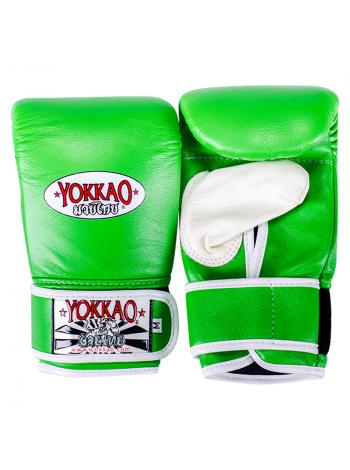 Снарядные перчатки Yokkao зеленые