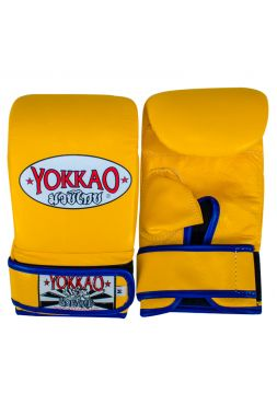 Снарядные перчатки Yokkao желтые